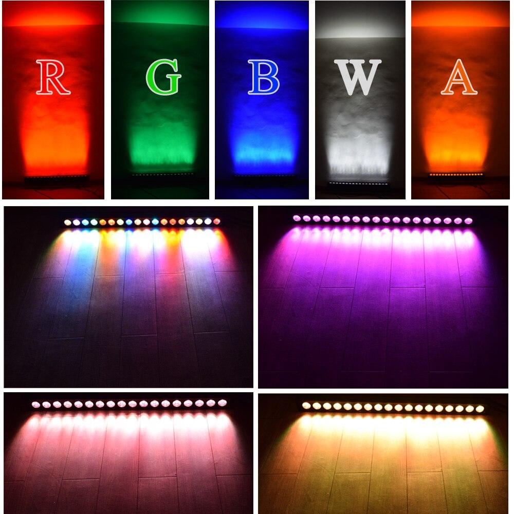Светодиодная стойка для сценических светильников 9X10 Вт RGBW 4в1 светодиодный настенный светильник Освещение сцены Эффект настенный светодио... - 5