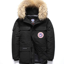 -40Celsius Goose Down Jacket Keep Warm Men's Winter Thick Sn