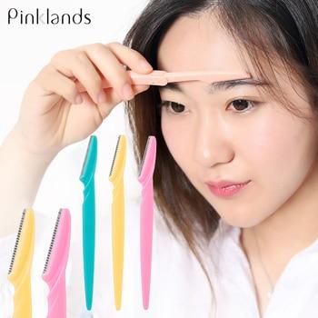Women Eyebrow Trimmer Facial Hair Remove Razor Eyebrow Epilator Eye Brows Blades Shaver Knife Girl Makeup Cutting Cosmetic Tool