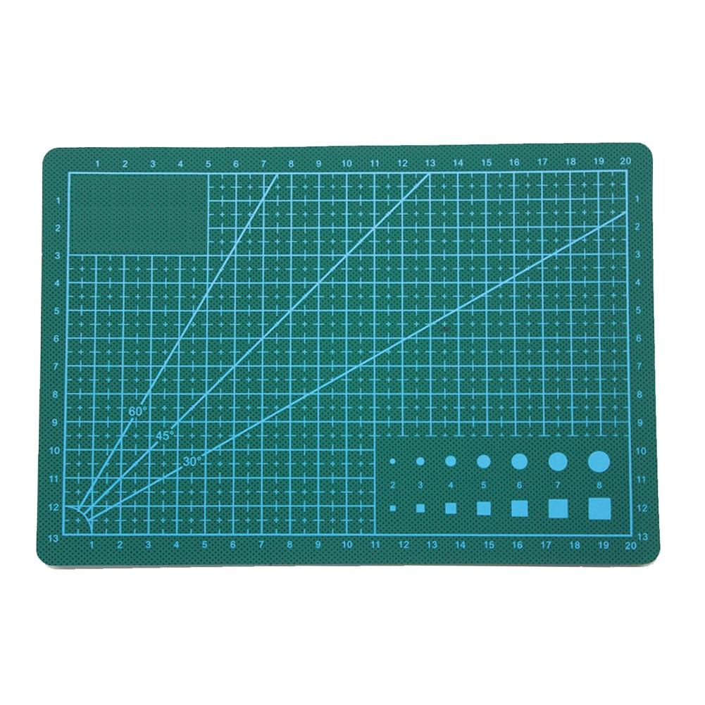 Zayex A5 Double-sided Self-healing PVC Cutting Mat Pad Patchwork Cut Pad  Patchwork Tools Manual DIY Tool Cutting Board