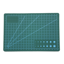 zayex A5 Double-sided Self-healing PVC Cutting Mat Pad Patchwork Cut Pad  Patchwork Tools Manual DIY Tool Cutting Board