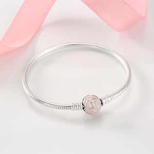Image 5 - Nowy 925 bransoletki ze srebra wysokiej próby okrągły kształt łańcucha węża dla kobiet akcesoria biżuteria walentynki dzień matki prezent