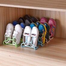 6PCS/Set Multi-Function Children Kids Shoes Hanging Rack Stand Shelf Drying Hanger Organizer Space Saver Floor Type