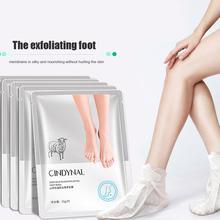Liquid Goat Milk Foot Mask Female Nourishing Hydrating Moisturizing Foot Mask Exfoliating Foot Skin Care Mask Wholesale