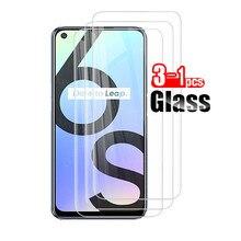 3-1 pces vidro temperado para oppo realme 6 s protetor de tela protetora para realme 6 s 6 s realme6s real me 6 s filme de vidro