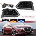Auto LED DRL Nebel Lichter für Nissan Altima Teana 2019 2020 scheinwerfer Tagfahrlicht LED nebel Lampe Blinker stil Relais