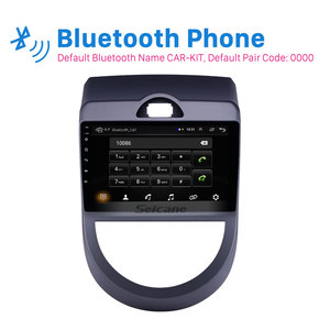 Image 3 - Seicane Android 9.1 9 inch Double Din Car Radio GPS Multimedia Unit Player For 2010 2011 2012 2013 Kia Soul support DVR SWC