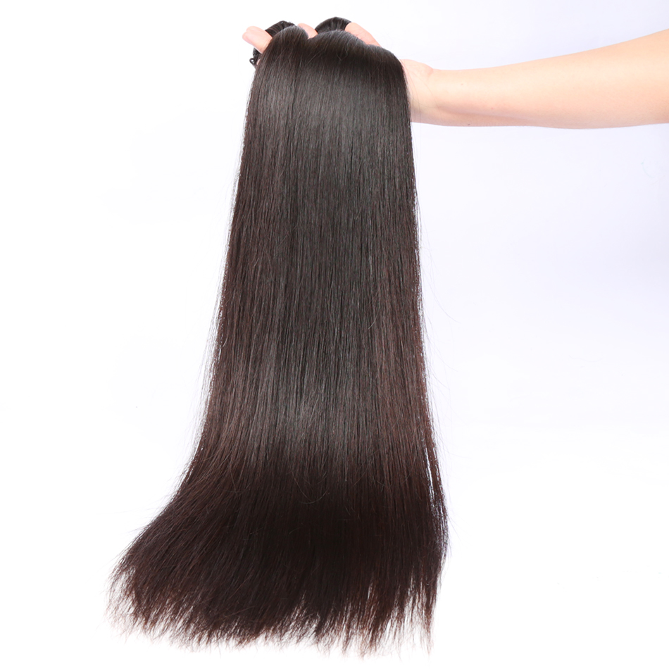 pacotes 100% de extensão de cabelo humano