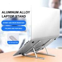 Draagbare Legering Laptop Stand Notebook Laptop Accessoires Voor Macbook Pro 13 Opvouwbare Laptop Houder Bureau Voor Mi Notebook Pro Etc