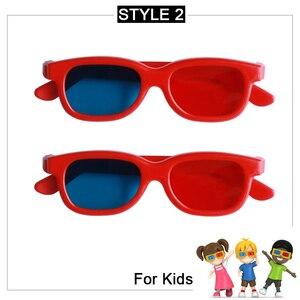 Image 4 - 2 шт., 3d очки для светодиодных проекторов