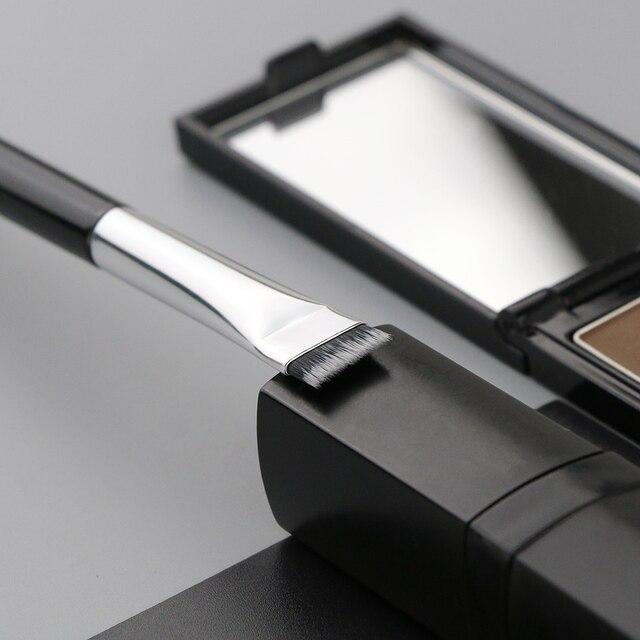 BEILI Black/Pink Eyebrow Makeup Brushes Single Professional Eyeliner Eyelash Concealer Brush Foundation Brushes Make up Tools 4