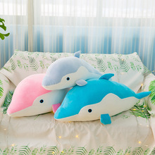 Cute Cartoon Dolphin Plush Toy Stuffed Doll Toys Soft Home Pillow Children Girls Gifts