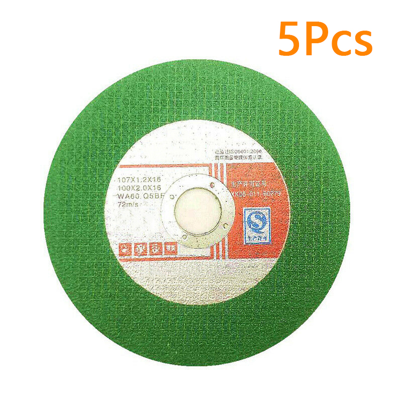 4 Ultra Thin Cutting Disc Double Cut Abrasive Wheel For Grinder Metal Portabl