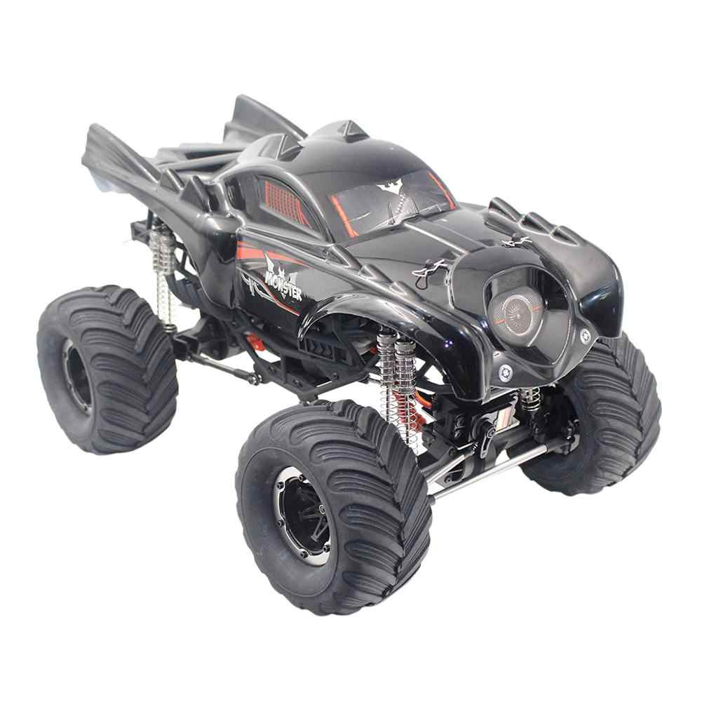 Leadingstar Remo Hobi 1096T 1/10 2.4G 4WD Tahan Air Brushed RC Mobil Off-Road Rock Crawler Rakasa truk Rtr Mainan