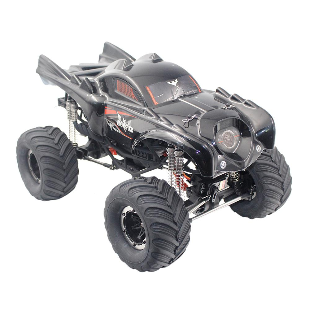 LeadingStar Remo Hobby 1096T 1/10 2.4G 4WD Waterproof Brushed Rc Car Off-road Rock Crawler The Truck RTR Toy