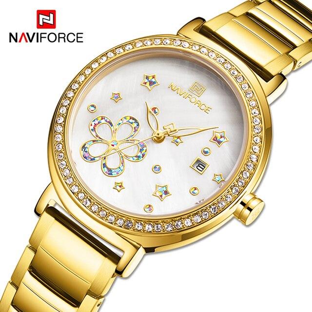 NAVIFORCE Luxury Women Watches
