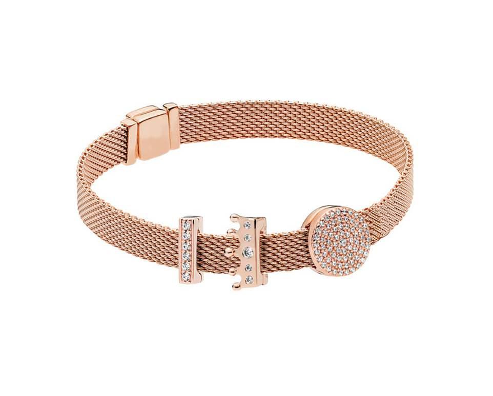 Keris Store haute qualité 1:1 100% 925 argent Sterling or Rose fermoir Bracelet livraison gratuite