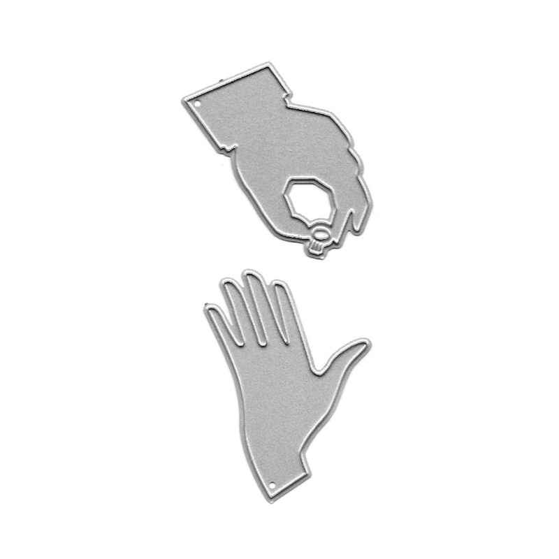 Engajado Anel Corte De Metal Morre Stencil DIY Álbum Scrapbooking Selo de Gravação Do Cartão de Papel Craft Decor E65B