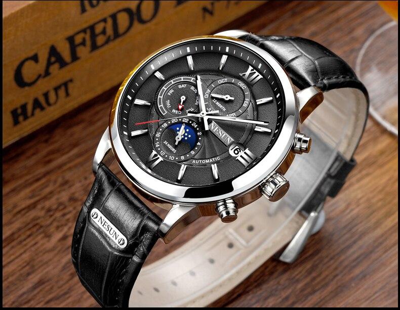 Switzerland Nesun Automatic Mechanical Watch