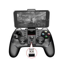 PG-9076 Bluetooth Game Board Controller For Android Mobile Trigger Joystick Smartphone TV Box PC PS3 VR Support Many Games lefant g6 wireless bluetooth gamepad joystick controller for android smartphone tablet vr pc tv box ps3
