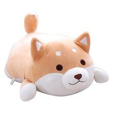 40 см милые толстые Шиба ину собаки плюшевые игрушки мягкие Kawaii животных мультфильм Подушка прекрасный подарок для детей детские мягкие плюшевые