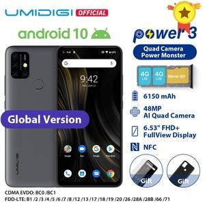 UMIDIGI power 3 6150 мАч Android 10 6,53