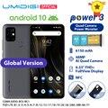 4000206188441 - UMIDIGI potencia 3 Android 10 48MP Quad cámara de IA 6150mAh 6,53 FHD + 4GB 64GB Helio P60 versión Global Smartphone NFC en Stock