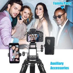 Image 4 - INNOREL MH5 foldable tripod head Z shaped quick release plate can be rotated Vertical tilt Photographing Suitable for camera