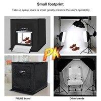 PULUZ 40*40 センチメートルライトボックス写真ボックス折りたたみソフトボックス LED 写真照明スタジオ撮影テントボックスキット