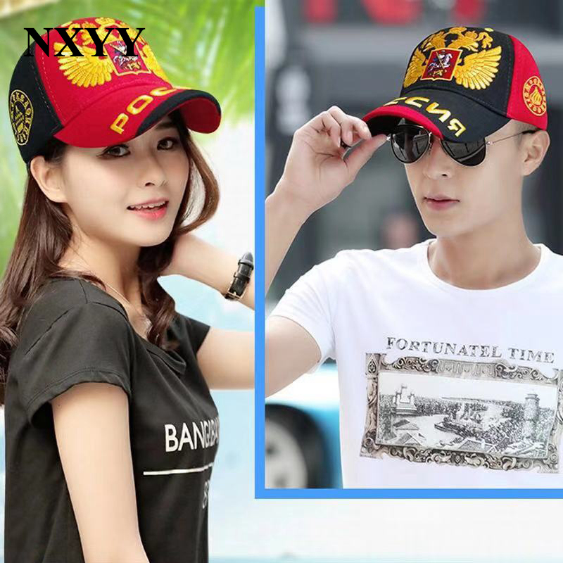 NXYY Royal Baseball Caps Double-headed Eagle Embroidery Hat Hip Hop Fitted Cheap gorras Curved Brim Hats for Men Women casquette
