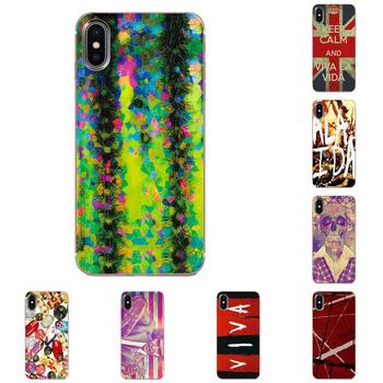 Soft TPU Cellphone Transparent Viva La Vida For LG K50 Q6 Q7 Q8 Q60 X Power 2 3 Nexus 5 5X V10 V20 V30 V40 Q Stylus image