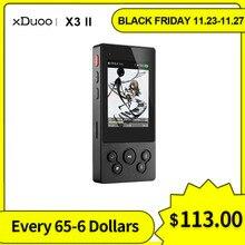 XDuoo X3II X3 II USB DAC odtwarzacz Mp3 Bluetooth 4.0 AK4490 przenośny odtwarzacz muzyczny HIFI Mp3 DSD128 bezstratny odtwarzacz MP3/WAV/FLAC