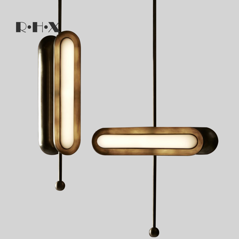Nordic Deco Chambre Crystal Home Decoration E27 Light Fixture  Living Room  LED  Pendant Lights Luminaria Pendente