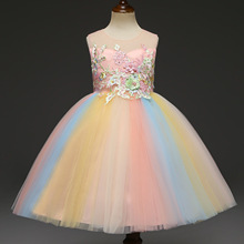 Kids Dresses For Girls 2019 Christmas Dress Sequined Summer Party Wedding Dress Princess Dress For Girls 4 5 6 7 8 9 10 Years 2019 autumn wedding dress for kids girls dress tulle kids dresses for girls with sleeves teenager dress for party 4 to 14 years