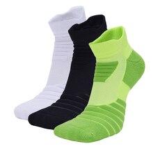 Профессиональные хлопковые мужские баскетбольные Носки, Нескользящие, для велоспорта, элитного футбола, толстые, тепловые, с полотенцем, для улицы, спортивные носки для мужчин