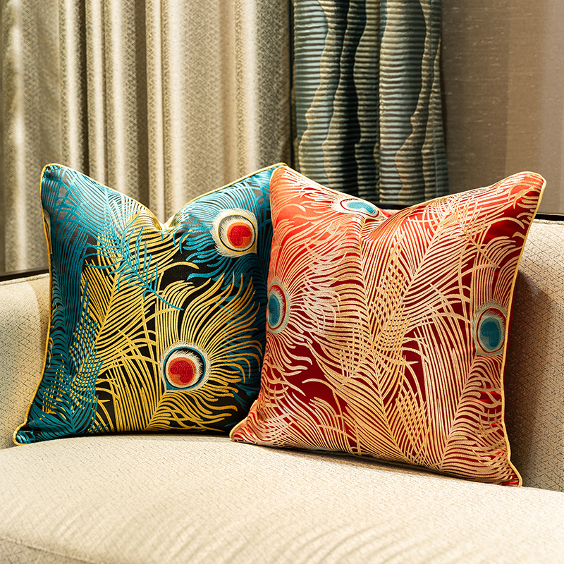 Satin Fabric Cover Cushions Pillow Case