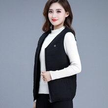 Черная шелковая нить нагревательный жилет погружной usb зарядка нагревательная одежда Интеллектуальный термоэлектрический зимний теплый кожный жилет