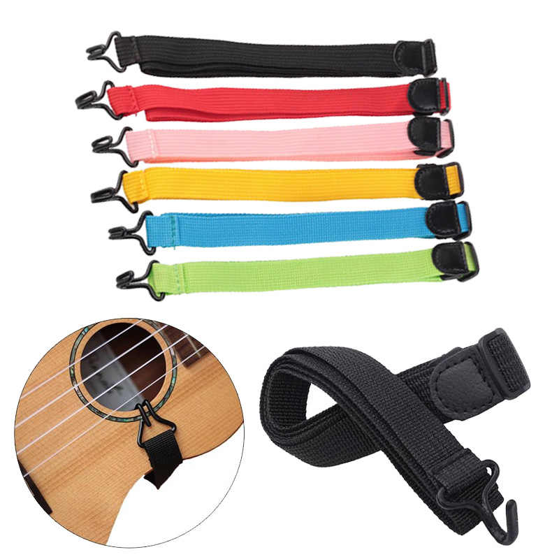 Guitar Belt with Hook Durable Electric Bass Guitar Band Ukulele Strap Gadgets Musical Accessories Holder Music Instrument Parts