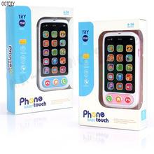 Ootdtyвысокое качество дети умный экран мобильный телефон игрушка