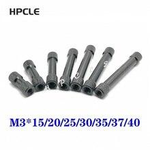 M3--15/20/25-/.. Aluminum-Rods Standoff-Spacers Rc-Parts 10pcs for Multicolor 6mm