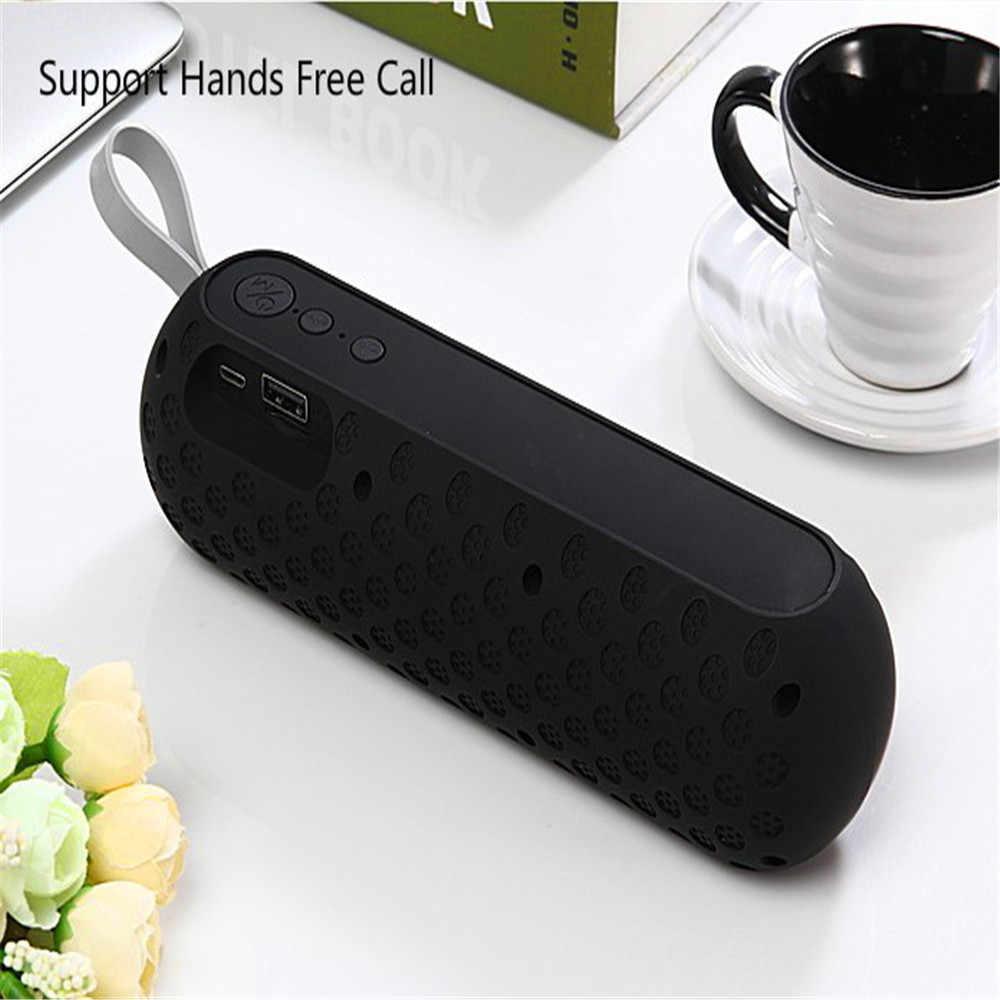 Âm Thanh di động Hộp Nhỏ Nhạc Thanh Năng Động Boom Nói Bluetooth USB Cột Micro Loa có Đài FM TF slo
