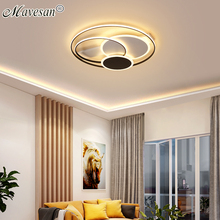 Fixtures Acrylic-Lamp Ceiling-Lighting LED Bedroom New-Design Indoor Ultra-Thin Round