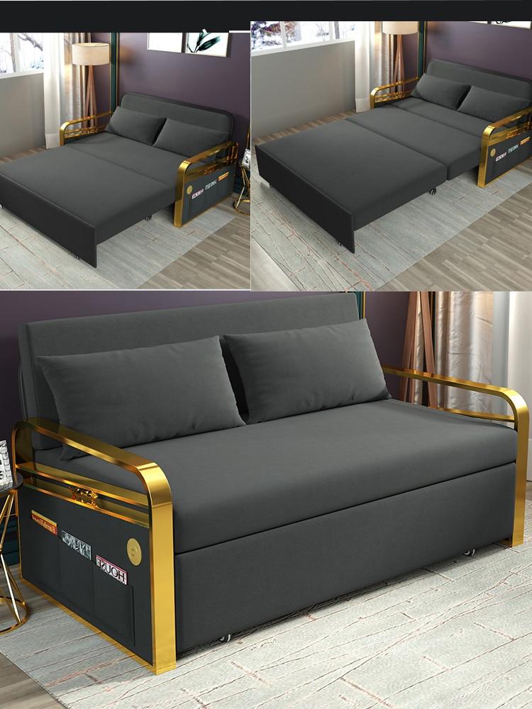 Linen Hemp Fabric Sofas Living Room