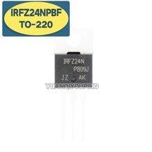 Irfz24n to220 irfz24npbf para-220 irfz24, nuevo y original ic, 10 uds.