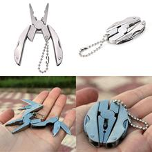 COG Outdoor Mini Multifunctional Knife Tool Folding Pocket Tools multi Hand Keychain Pliers Screwdriver
