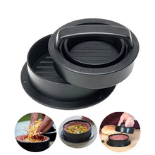 Mold Hamburger-Maker Chef-Cutlets Meat ABS Beef-Grill Non-Stick Round-Shape