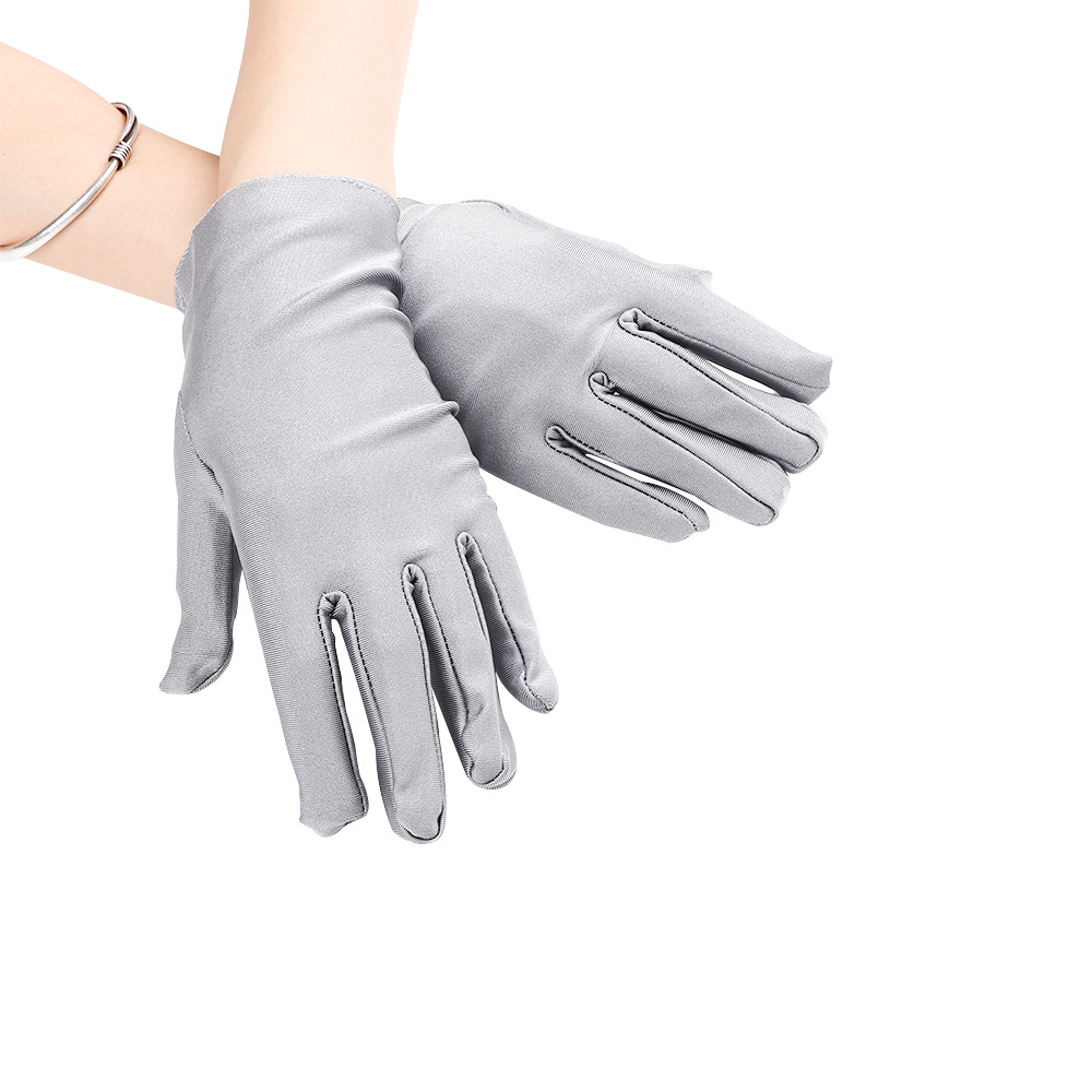 New Arrival Evening Party Formal Prom Stretch Satin Gloves Women Sale WOMEN ACCESSORIES Luvas De Inverno Feminina