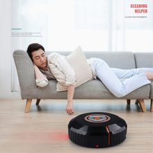 Full Automatic Intelligent Smart Cleaning Robot USB Charging Automatic Robotic Home Floor Vacuum Cleaner Dust Sweeper(China)