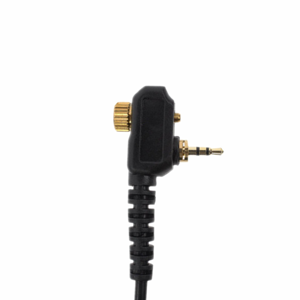 Walkie Talkie Audio Cable Adapter For Motorola MTH800 MTH850 MTP850 MTS850  For UV-5R K Head  Headset Change Port Cable
