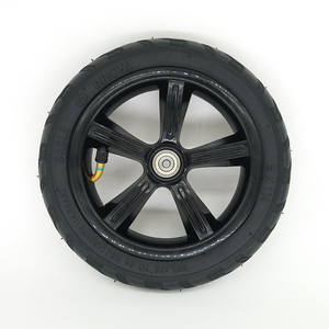 """Image 4 - 1 pc 8"""" 8X1 1/4 (200*45) Pneumatic Tire Inflatable Full Wheel For Electric Scooter Full Round Wheel"""